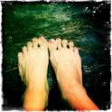 Feet in the Summer