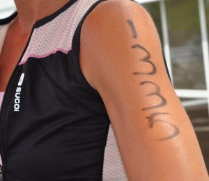 Triathlon Body Marking