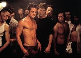 Fight club movie Brad Pitt