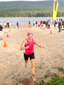 Iron Girl Rocky Gap 2012 Swim