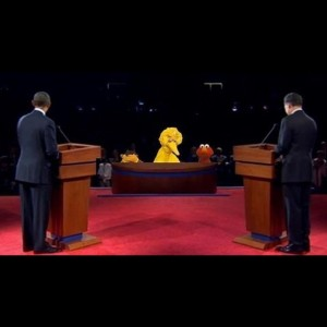 big Bird presidential debate