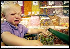 tantrum in grocery